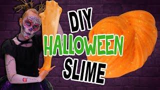 DIY Halloween Glitter Slime | FunPop!