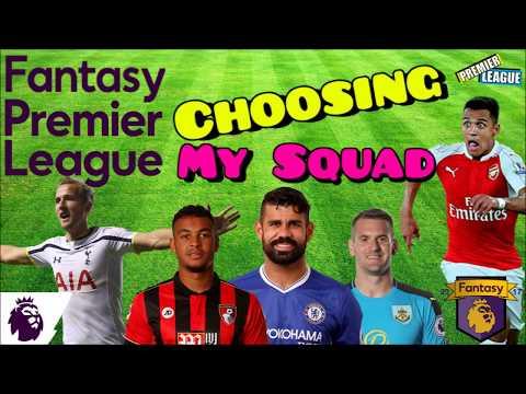 Selecting my Team: Fantasy Premier League (2017/18)
