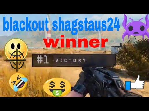FIRST EVER* COD BO4 BATTLE ROYALE WIN!!! (Blackout Gameplay)