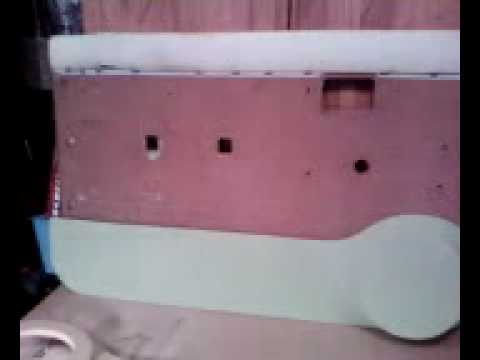 Ground Scraping Customs Fiberglass Door Panel For Mtx Mazda B2200 Build Youtube