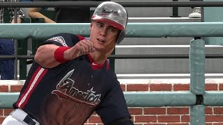 """HOME RUN DERBY AND ALL-STAR GAME"" MLB 18 RTTS Joe Broadway Road To The Show MLB The Show 18 RTTS"