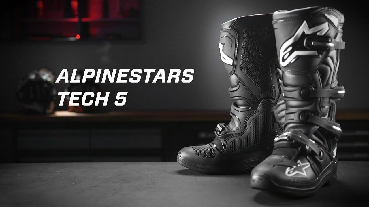 6 Alpinestars Tech-5 Boots Black