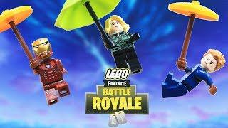 Lego Fortnite How To Be The Winner Ironman, Spiderman vs Captain