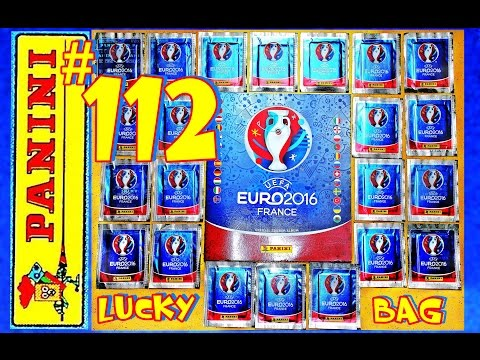 PANINI UEFA FRANCE EURO 2016 110 new Sticker PANINI Frankreich OFFICIAL video LuckyBag ALBUM EM #112