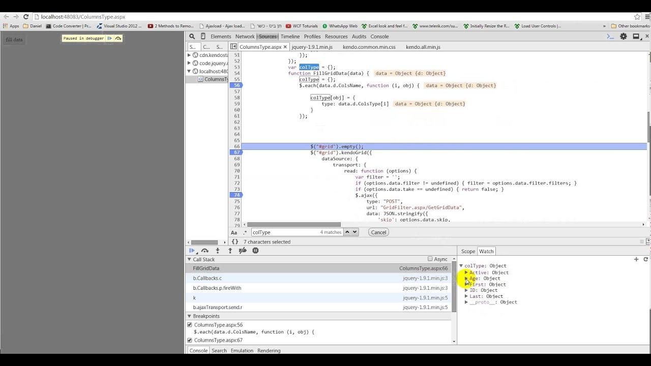 Kendo Grid Column Editable Dynamically
