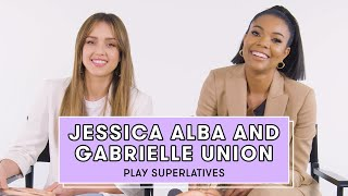 Gabrielle Union and Jessica Alba Reveal Who's Most Likely to Break Character and More   Superlatives