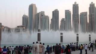 Dubai Fountain 2013 - Dhoom Taana