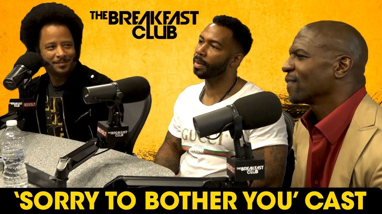 Image result for omari hardwick terry crews boots riley the breakfast club