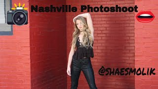 Nashville Photoshoot for upcoming music release.