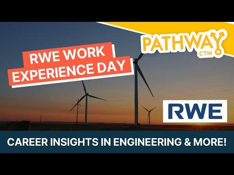 RWE Taster Day - Career Insights in Engineering & More!