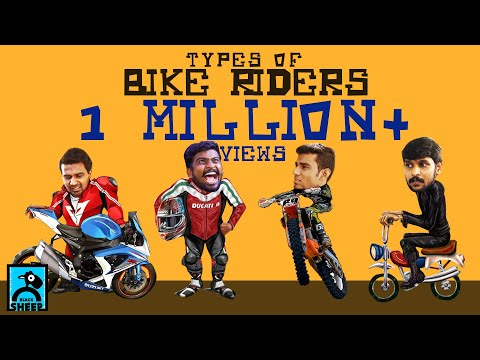 Types Of Bike Riders | Types | Black Sheep