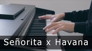Señorita x Havana - Shawn Mendes, Camila Cabello (Piano Cover by Riyandi Kusuma)