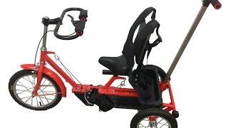 видео Велосипеды для детей с ДЦП