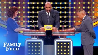 Mom still does WHAT for her adult son??? | Family Feud Video