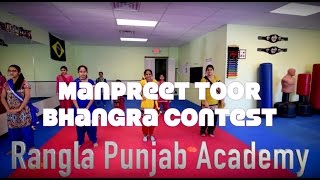 Manpreet Toor Bhangra Contest | Back To Bhangra | Roshan Prince Ft. Sachin Ahuja | Dance
