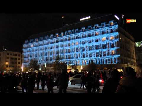 Berlin Festival of Lights 2013: Brandenburger Tor, Hotel Adlon, Siegessäule