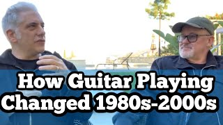 Guitar Recording in the 80s, 90s and 2000s w/ Tim Pierce