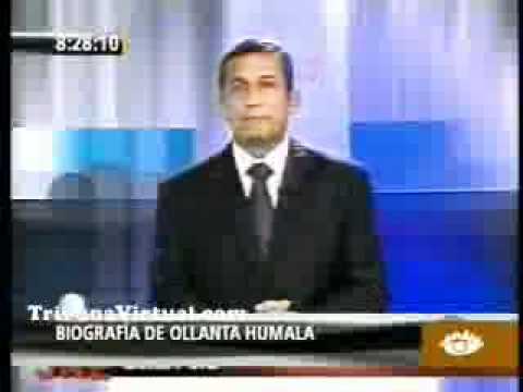 Biografía de Ollanta Humala 2011
