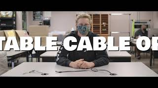 Table Cable Optimizing Apparatus (OHS Media Day 2021)