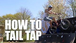 How To Tail Tap Bmx (Как Сделать Тейл Теп На Бмх/Mtb) | Школа Bmx Online #21