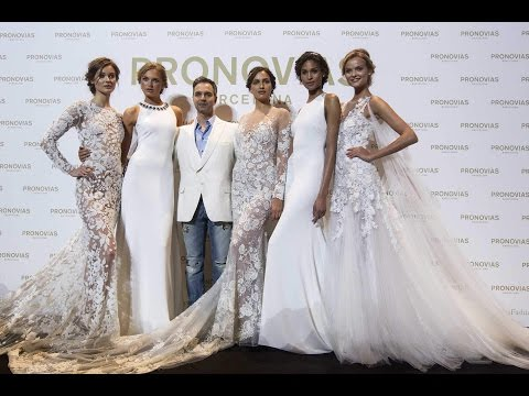 Atelier Pronovias 2017 fashion show Barcelona 29.4.2016