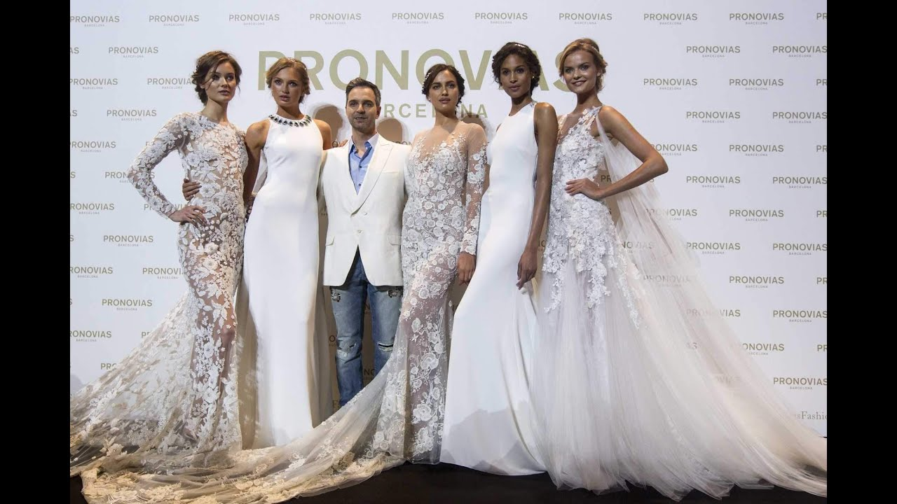 ef096bc5c3a Atelier Pronovias 2017 fashion show Barcelona 29.4.2016. NUANCE WEDDING  SALONS