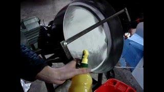Испытания тарельчатого гранулятора на силикатном клее(тарельчатый гранулятор мини с 0,5м тарелкой, барабанный гранулятор, чашевый гранулятор - окомкователь, подро..., 2016-03-05T15:30:02.000Z)