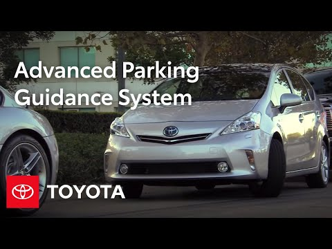 2012 Prius v How-To: Parallel Parking | Toyota
