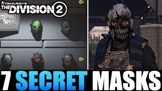 The Division 2 - HOW TO UNLOCK 7 SECRET HUNTER MASKS | EVERYTHING YOU NEED TO KNOW