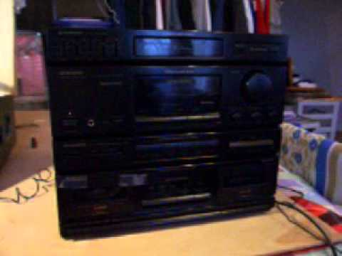 1993 Pioneer Rx 560 Stereo System Youtube