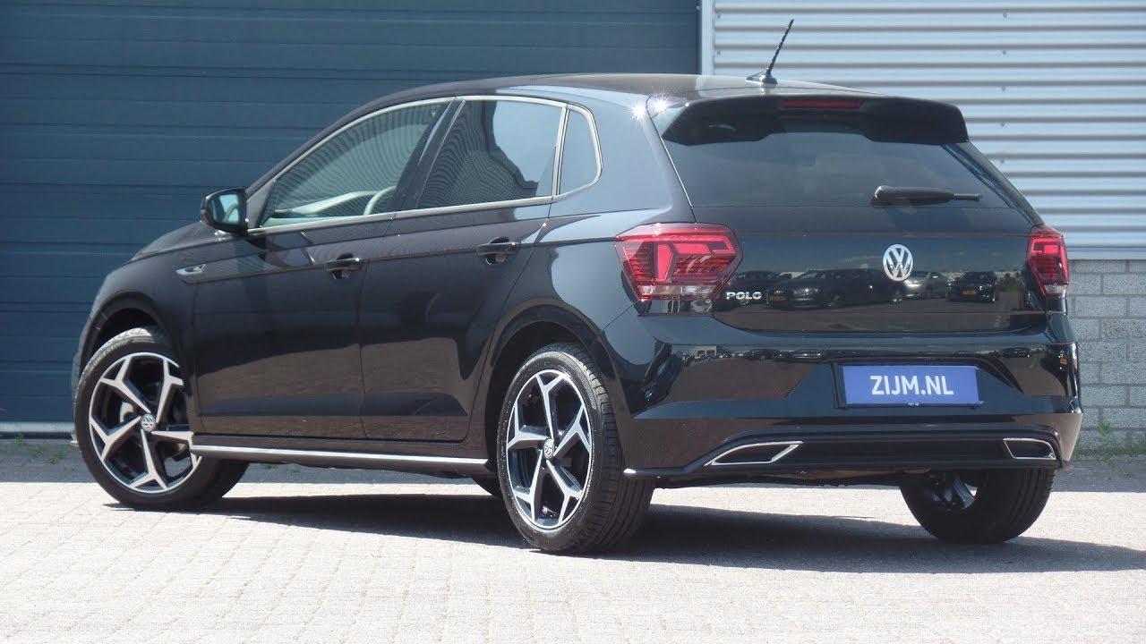 "Volkswagen NEW Polo R-line 2018 Deep Black Pearl ""17 inch ..."