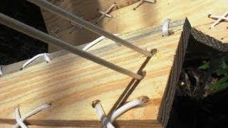 Как сделать необычный гамак своими руками(Предлагаю сделать своими руками кресло-гамак и повесить его в любимом для отдыха месте на своем дачном..., 2014-06-20T15:35:54.000Z)