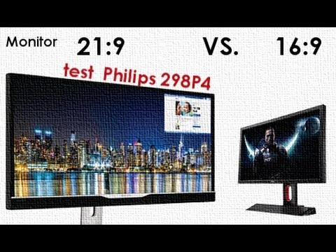monitor 16 9 czy 21 9 test philips 298p4 youtube. Black Bedroom Furniture Sets. Home Design Ideas