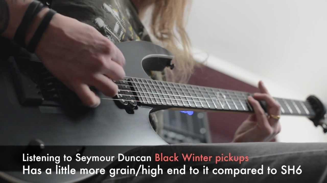 Seymour Duncan Black Winter Pickups Youtube Jackson Pickup Wiring