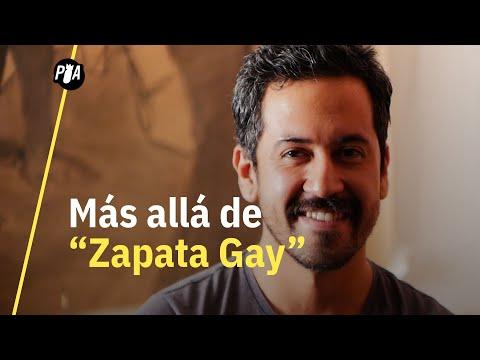"""Fabián Cháirez, autor del """"Zapata Gay"""", desafía la masculinidad"""