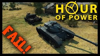 ► World of Tanks Power Hour with DezGamez #2 | When Everything goes to Shit! [1080p]