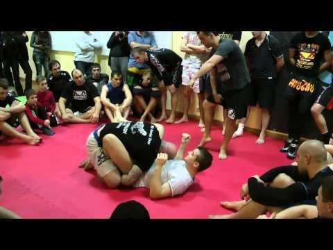 Jeff Monson: Jiu Jitsu Workshop @Hammerhead CrossFit &Fight (Krasnodar, Russia)
