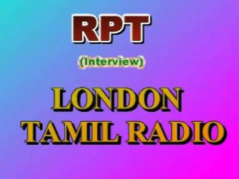 RPT on LONDON TAMIL RADIO ,UK (Interview)