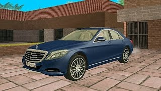 Gta San mod car - Mercedes S Class 2016 download car mod car link install