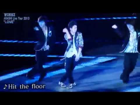 大野 智 hit the floor
