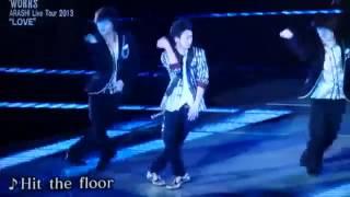少クラ 大野智ソロ Hit the floor