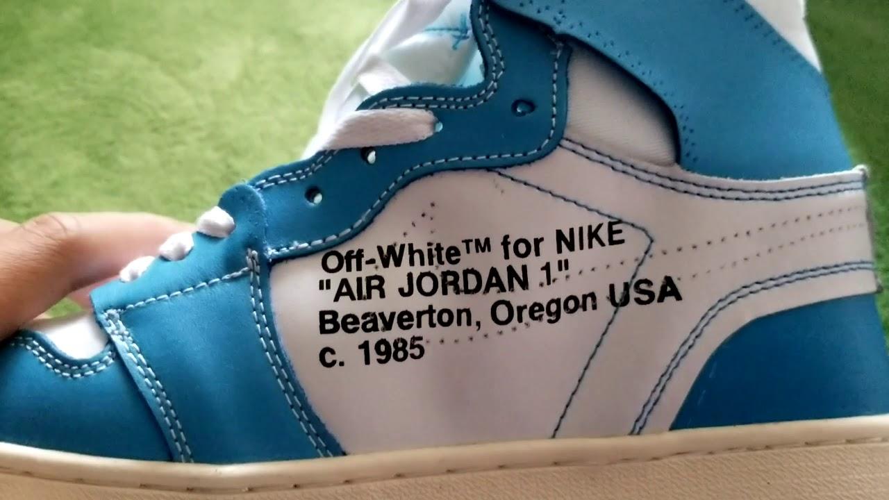 OFF-WHITE Air Jordan 1 \