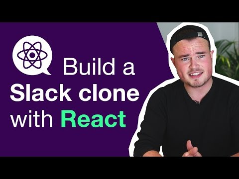Build a chat application like Slack with React