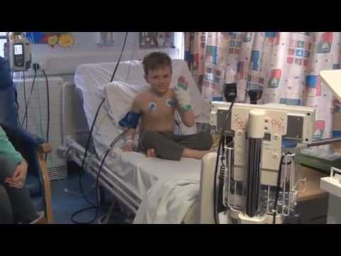A Visit To Morriston Hospital S Children S Ward Youtube