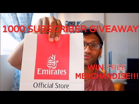 Emirates Cabin Crew: Win FREE Emirates merchandise | Eating in Texas
