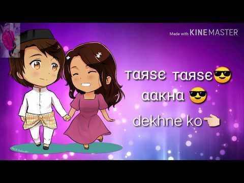 Tarse Tarse   WhatsApp Status Video   Taqdeer 2018   Akhil, Kalyani, Jagapathi, Ramya