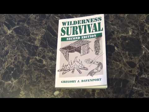 Wilderness Survival Book by Gregory J  Davenport