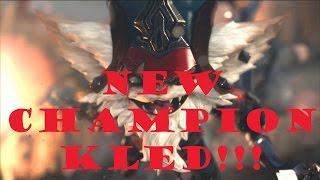 NEW LOL CHAMPION KLED!!! ABILITY POSSIBILITIES!!!