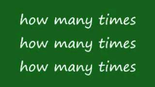 K.Michelle- How Many Times (Lyrics)