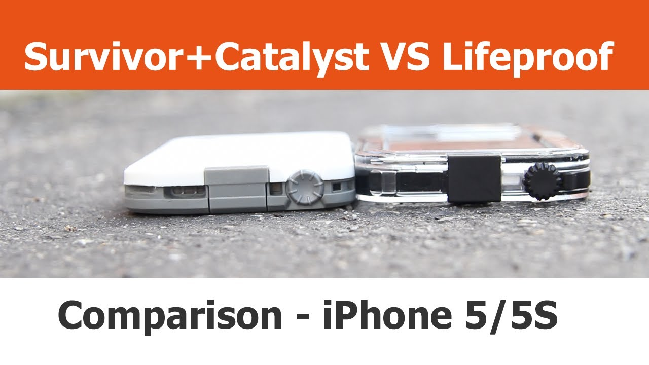 new styles 3b43b 164ba Griffin Survivor + Catalyst vs Lifeproof Fre - iPhone Cases